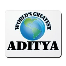 World's Greatest Aditya Mousepad
