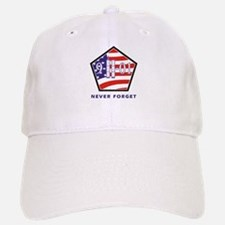 NEVER Forget - Baseball Baseball Cap