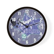 Dingo's Australian Tours Clock
