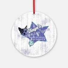 Dingo's Australian Tours Ornament (Round)