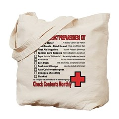 CHILD Emergency Preparation Tote Bag