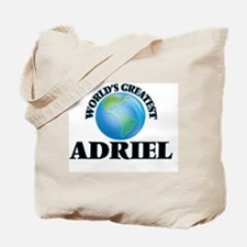 World's Greatest Adriel Tote Bag