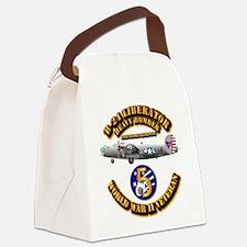AAC - 43rd BG - 63rd BS - 5th AF Canvas Lunch Bag