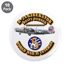 "Aac - 43rd Bg - 63rd Bs - 5t 3.5"" Button (10"