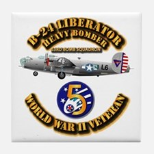 Aac - 43rd Bg - 63rd Bs - 5th Af Tile Coaster