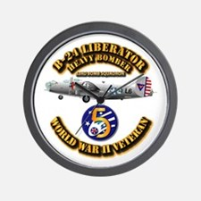 Aac - 43rd Bg - 63rd Bs - 5th Af Wall Clock