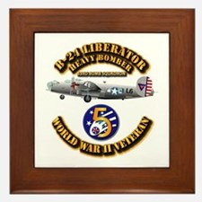 Aac - 43rd Bg - 63rd Bs - 5th Af Framed Tile