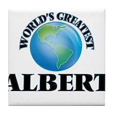 World's Greatest Albert Tile Coaster