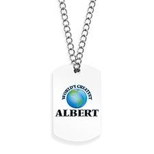 World's Greatest Albert Dog Tags