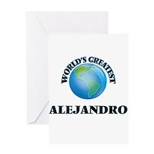 World's Greatest Alejandro Greeting Cards
