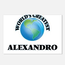 World's Greatest Alexandr Postcards (Package of 8)