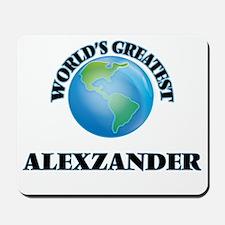 World's Greatest Alexzander Mousepad