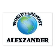 World's Greatest Alexzand Postcards (Package of 8)
