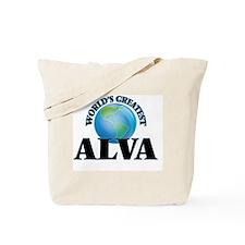 World's Greatest Alva Tote Bag
