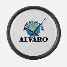 World's Greatest Alvaro Large Wall Clock