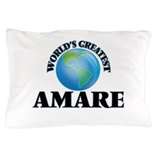 World's Greatest Amare Pillow Case