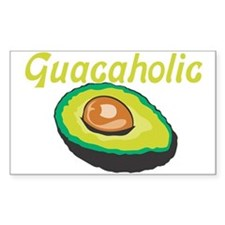 Guacaholic Rectangle Decal
