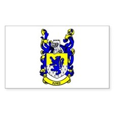 FORD Coat of Arms Rectangle Decal