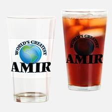 World's Greatest Amir Drinking Glass
