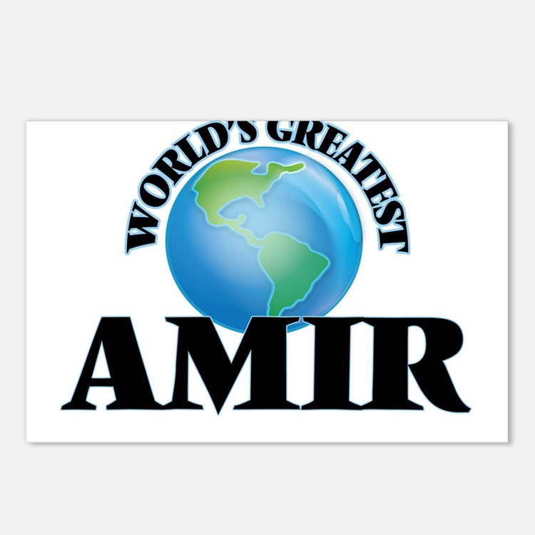 World's Greatest Amir Postcards (Package of 8)