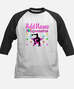 GYMNAST GIRL Kids Baseball Jersey