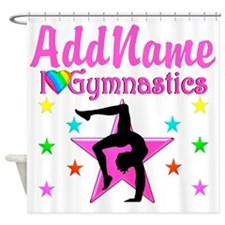 GYMNAST GIRL Shower Curtain