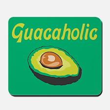 Guacaholic Green Mousepad