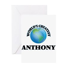 World's Greatest Anthony Greeting Cards