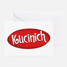 Retro Kucinich Greeting Cards (Pk of 10)
