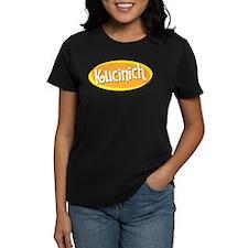 Retro Kucinich Women's Black Tee