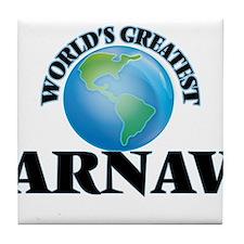 World's Greatest Arnav Tile Coaster
