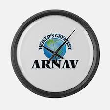 World's Greatest Arnav Large Wall Clock