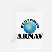 World's Greatest Arnav Greeting Cards