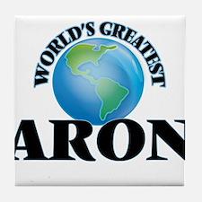 World's Greatest Aron Tile Coaster