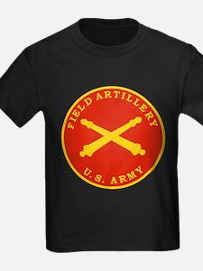 Field Artillery Seal Plaque T-Shirt