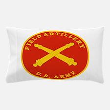 Field Artillery Seal Plaque.png Pillow Case