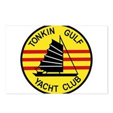 TONKIN GULF YACUHT CLUB V Postcards (Package of 8)