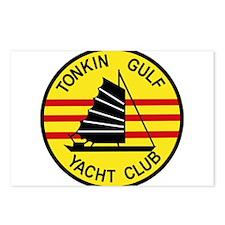 TONKIN GULF YACUHT CLUB V Postcards (Package of 8)