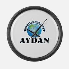 World's Greatest Aydan Large Wall Clock