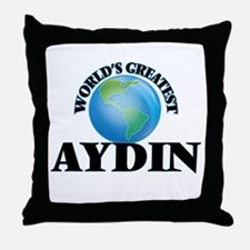 World's Greatest Aydin Throw Pillow