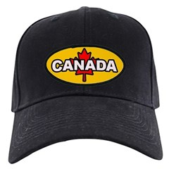I Love Canada Baseball Hat