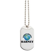 World's Greatest Barney Dog Tags