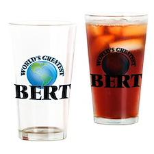 World's Greatest Bert Drinking Glass