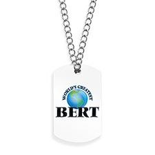 World's Greatest Bert Dog Tags
