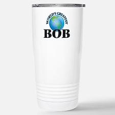 World's Greatest Bob Stainless Steel Travel Mug