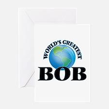 World's Greatest Bob Greeting Cards