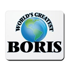World's Greatest Boris Mousepad
