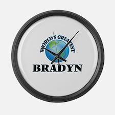 World's Greatest Bradyn Large Wall Clock
