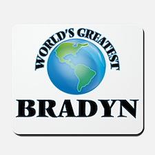 World's Greatest Bradyn Mousepad