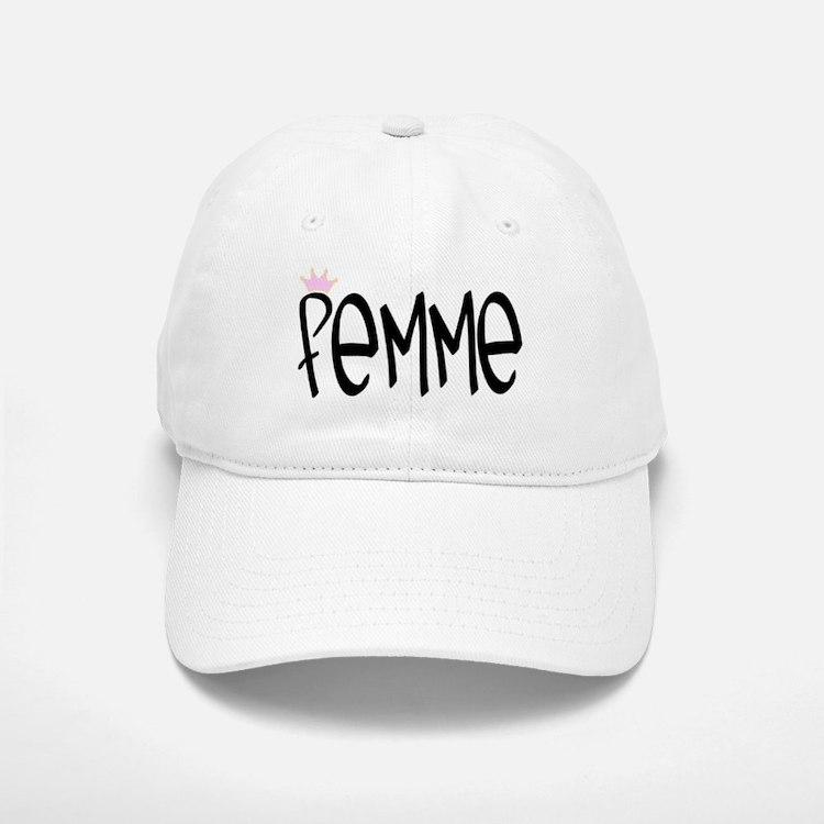 """""""Femme"""" Baseball Baseball Cap"""